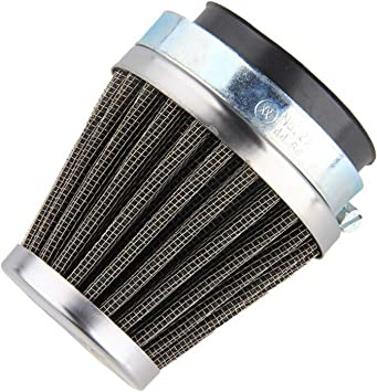 Universal Clamp On Chrome Emgo Tapered Motorcycle Air Filter 48mm