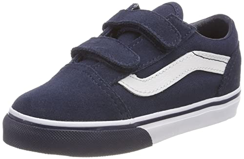 VANS OLD SKOOL (GUM BUMPER) DRESS BLUE SKATE SHOES