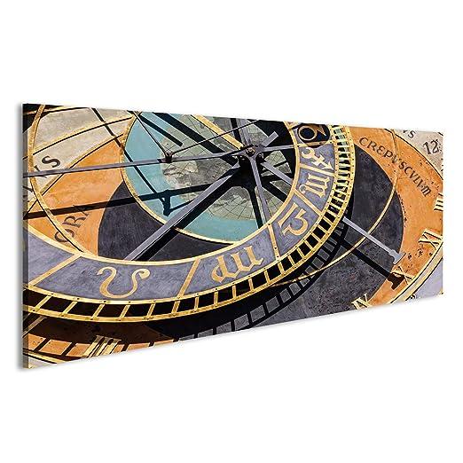 islandburner Cuadro Cuadros El Reloj astronómico de Praga o Praga o Praji en Praga, República Checa Impresión sobre Lienzo - Formato Grande - Cuadros ...