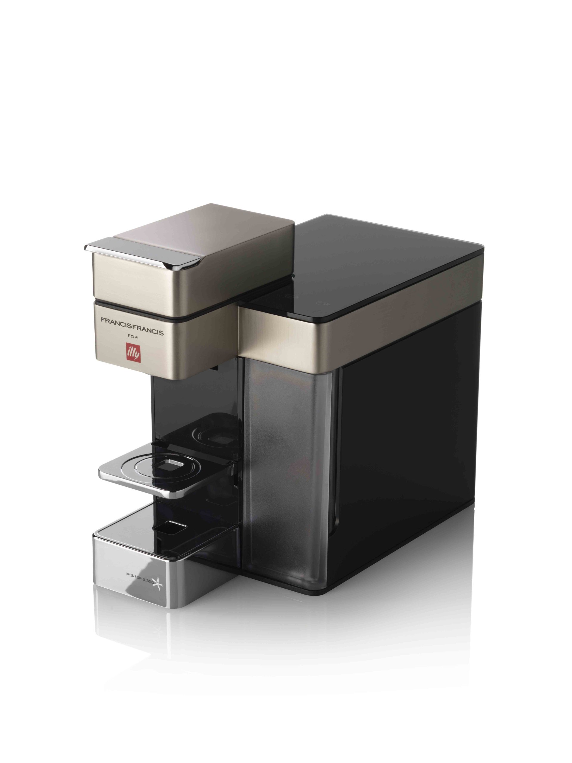 illy 6719 Y5 Iperespresso Coffee Machine, Satin