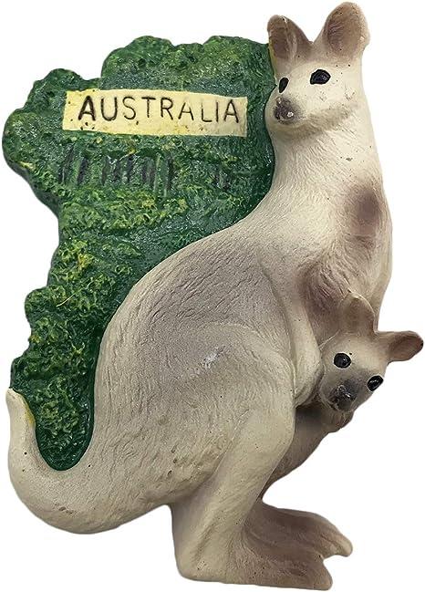 Australisch Känguru Dart 3D Harz Kühlschrank Magnet Reise Souvenir Fridge Dekor