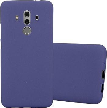 Cadorabo Funda para Huawei Mate 10 Pro en Frost Azul Oscuro – Cubierta Proteccíon de Silicona TPU Delgada e Flexible con Antichoque – Gel Case Cover Carcasa Ligera: Amazon.es: Electrónica