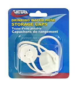 Valterra A0171VP White Carded Drinking Water Hose Storage Cap