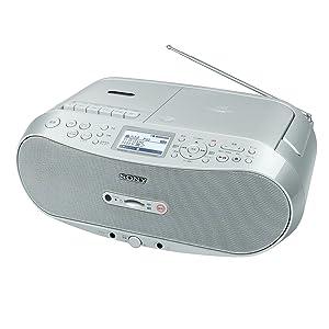 ソニー CDラジカセ SDカードに録音可能 CFD-RS501