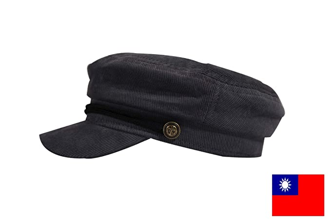 191300e6fdd venuss Fashion plain corduroy hat (gray) (Spinas) Ladies Corduroy Marine Cap  Casket