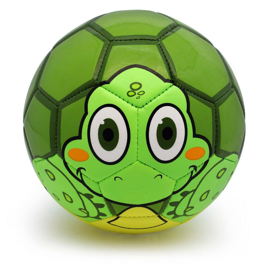 PP Picador Picador幼児用サッカーボールおもちゃCute Cartoon TPUサッカーおもちゃギフトwithポンプ B078TCQ6K6 Green Turtle Green Turtle