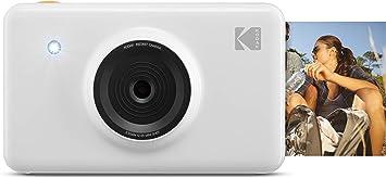 Oferta amazon: Kodak Mini Shot - Impresiones Inalámbricas de 5 x 7.6 cm con 4 Pass, Tecnología de Impresión Patentada, Cámara Digital de Impresión Instantánea 2 en 1, Blanco