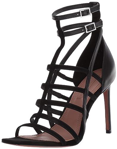 b65eab89500 Amazon.com  BCBGMAXAZRIA Women s Ilsa Heeled Sandal  Shoes