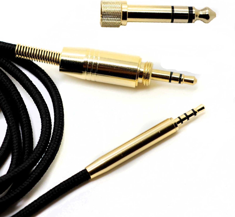 Cable para auriculares Bose QC25 QC35 SoundTrue OE2 OE2i AE2 AE2i/AKG Y45BT Y50 Y40 Y55/JBL Synchros S300 S300I E30 E40 E50BT S400BT J55a J55i J88a 2m Cable de audio