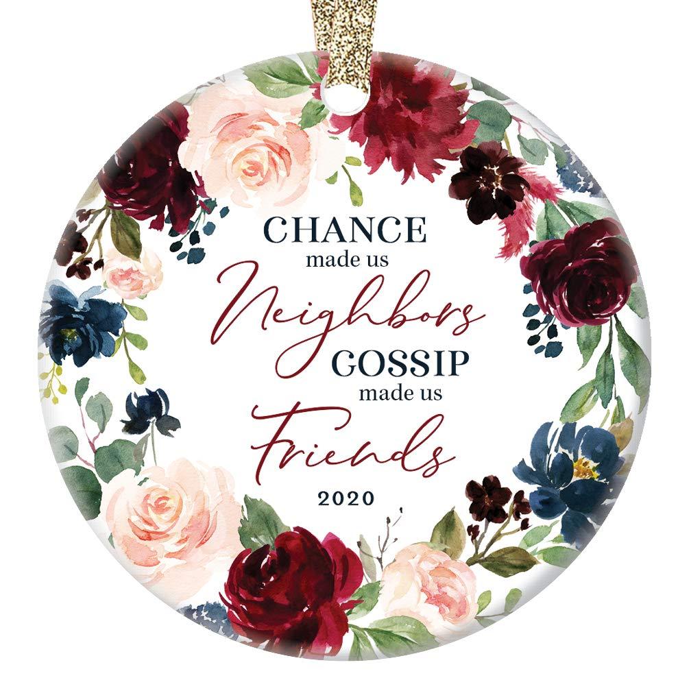 Neighbors Skip A Payment Christmas 2020 Amazon.com: 2020 Christmas Holiday Tree Ornament Gift Neighbors