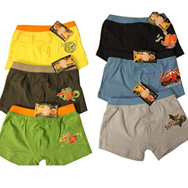 Pack de 6 niños Calzoncillos boxer pantalones cortos para Unterhose 6 Pack b8383pinl Farbmix: Amazon.es: Ropa y accesorios