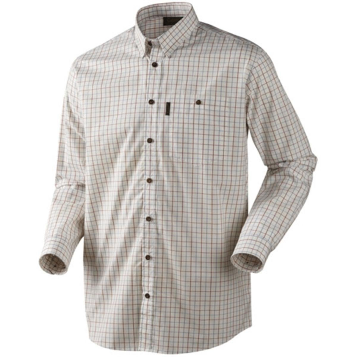 Seeland NIGEL Camisa de cuadros - Disponible en 3 Colores - m-3xl (TIRO / CAZA) - Verde, Large