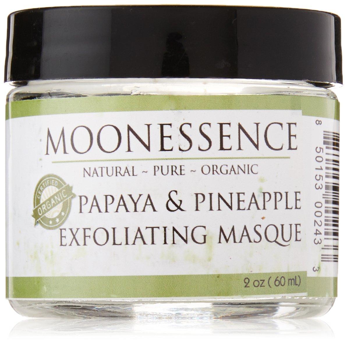 Amazon.com: moonessence Facial Scrub, Papaya Enzima de piña ...