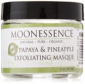 Amazon.com: moonessence Facial Scrub, Papaya Enzima de piña ...