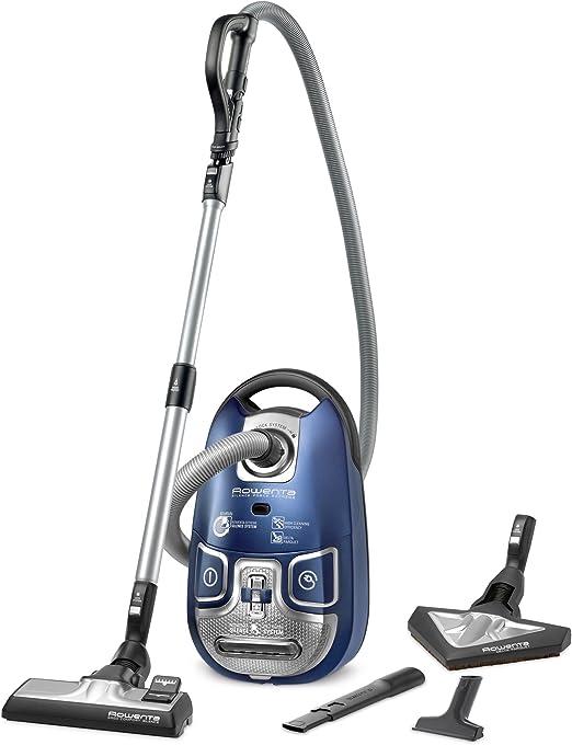 Rowenta Silence Force Extreme - Aspirador, color azul: Amazon.es ...