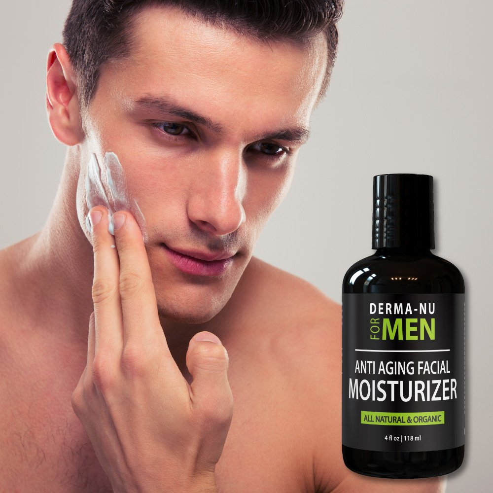 Anti age lotion facial for men