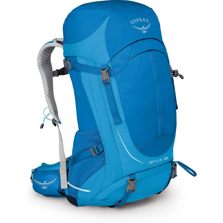 Osprey Packs Sirrus 36 Women's Hiking Backpack, Summit Blue, Small/Medium