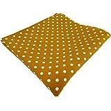 TigerTie diseñador Pañuelo de seda en lunares - pañuelo 100% de seda