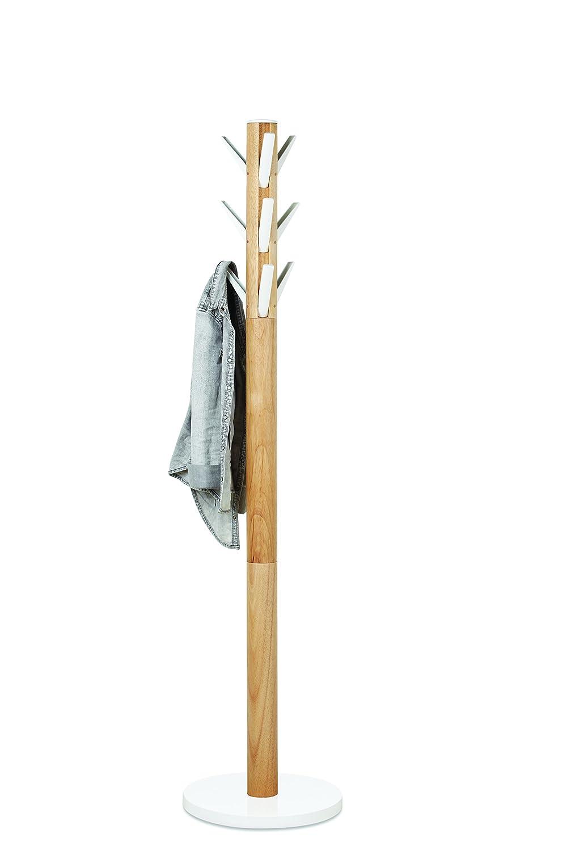umbra flapper wood coat rack white amazonca home  kitchen -