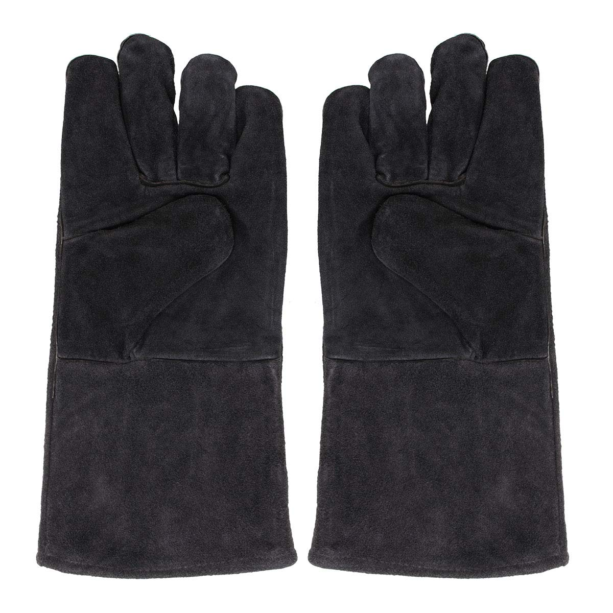 ZLF Welding Gloves Stoves Protect for Fire Log Wood Welder Hands Workplace Safety Glove Fireplace