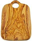 Manico in legno di ulivo simmetrica non-rustic Board, grana naturale