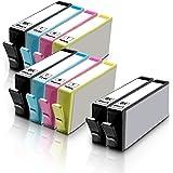 10 Inkfirst Compatible Ink Cartridges for HP 564 XL 564XL High Yield (4BK,2C,2M,2Y) OfficeJet 4610 4620 4622 Deskjet 3520 352