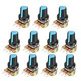 uxcell 11Pcs 100K Variable Resistors Single Turn