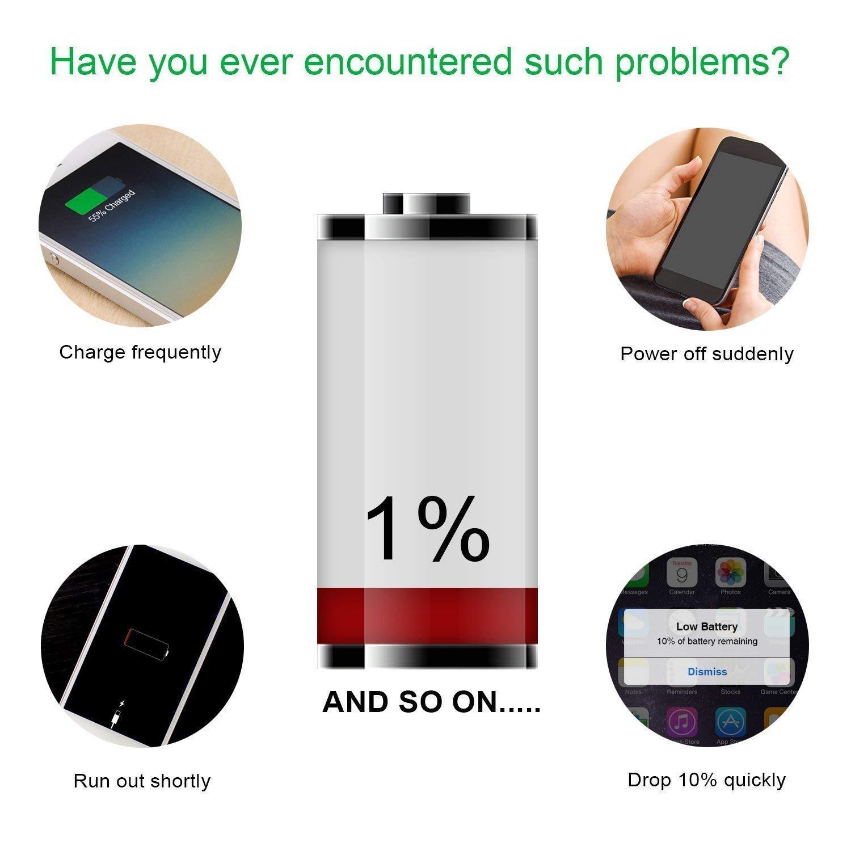 bater/ía de Repuesto de 1560 mAh 0 Ciclo,Garant/ía de 24 Meses YONTEX Bater/ía iPhone 5S 5C Reemplazo con Kits de Herramientas de reparaci/ón,Adhesiva y Protector de Pantalla