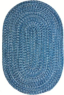 product image for Capel Rugs Team Spirit Area Rug, 7' x 9', Light Blue Navy