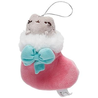 "GUND Pusheen in Stocking Christmas Ornament Plush, Multicolor, 5"": Toys & Games [5Bkhe1004255]"