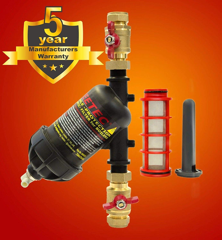 ZEETEC Double Protection Magnetic Filter, Boiler filter, Central Heating filter ZEETEC LTD