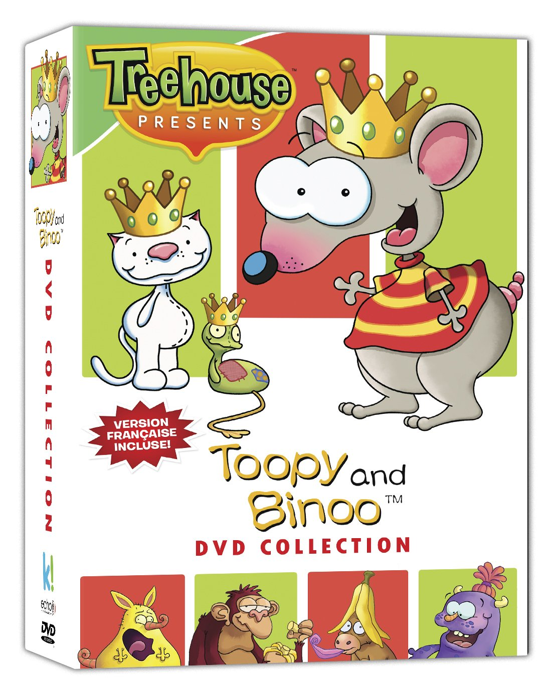 toopy and binoo dvd collection bilingual amazon ca various