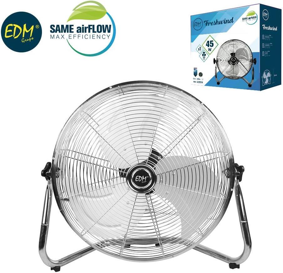 Ventilador Industrial 45W 30 Centímetros 3 Velocidades EDM 33934