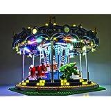 Led light set for lego Carousel 10257 Lighting Kit