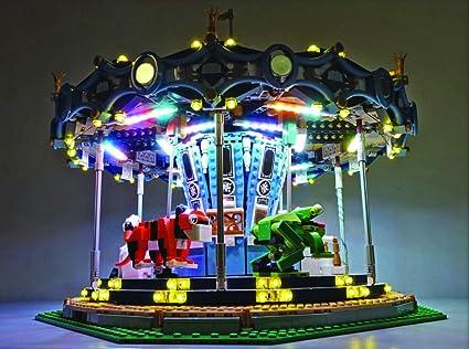 Amazon Led Light Set For Lego Carousel 10257 Lighting Kit Lego