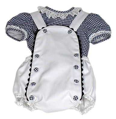 MI HIJA Y YO Camisa y Ranita de Vichy y Piqué Modelo Petín para Bebé (