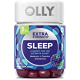 Olly Extra Strength Melatonin Sleep, Blackberry Zen, 50 Gummies (Pack of 2)