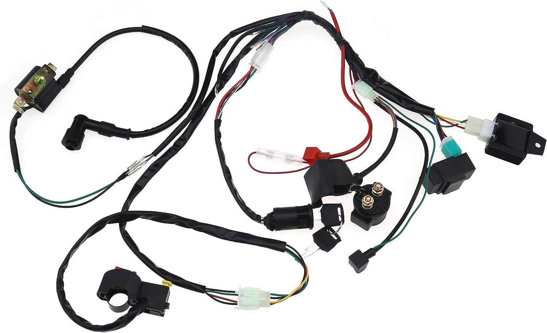 Create Idea con solenoide e raddrizzatore 110 cc Kit di ricambio per ATV e moto compatibile con 70 cc 125 cc