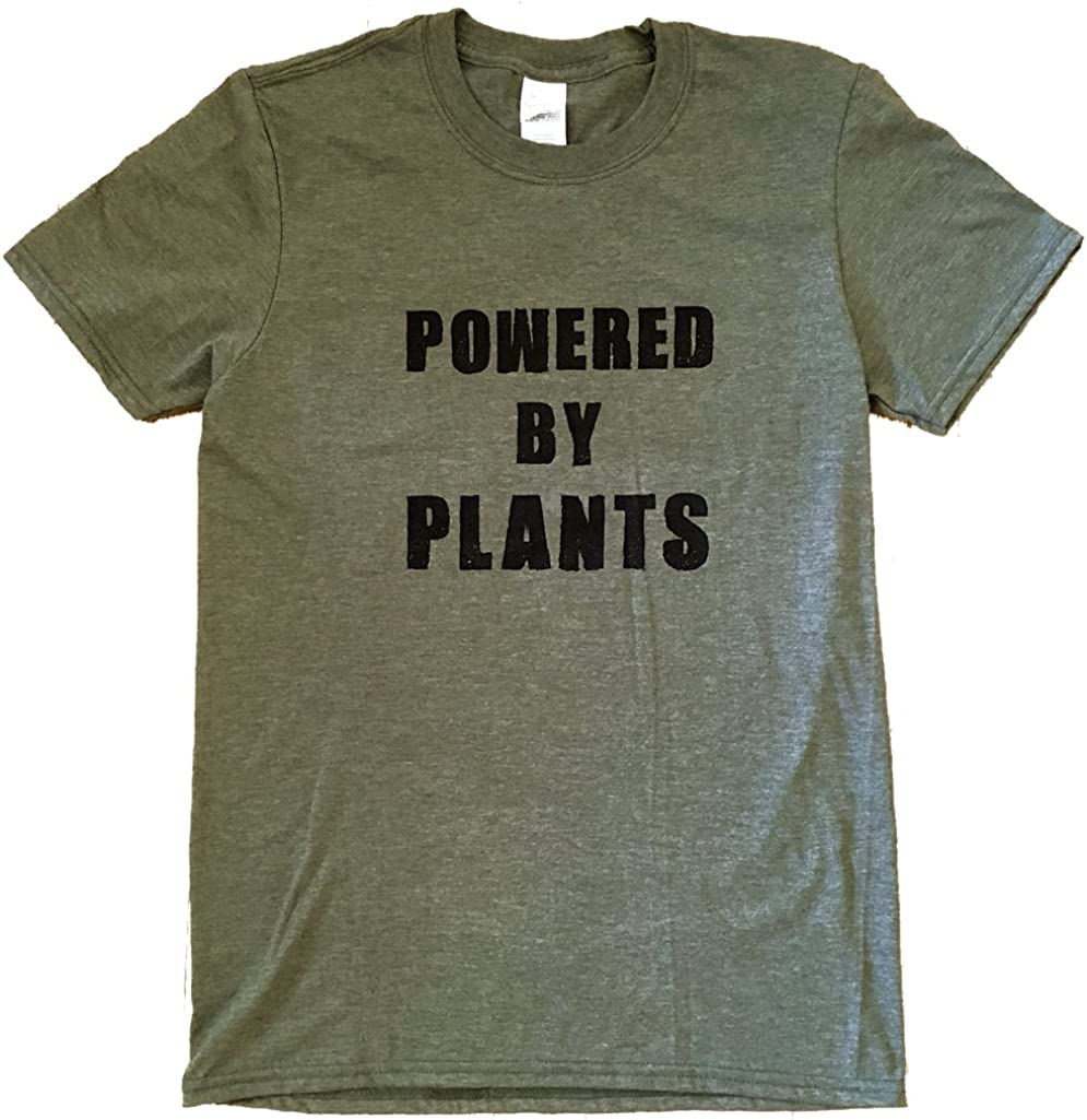 The Bold Banana Unisex Powered by Plants T-Shirt
