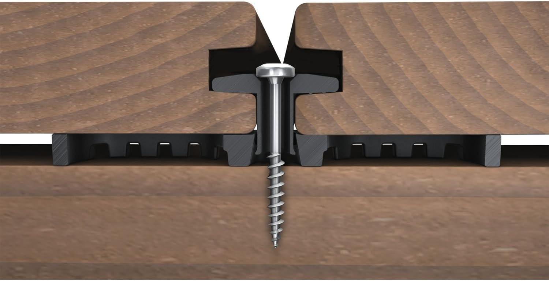 /120/Sticks 6560 KARLE /& RUBNER Terraflex with Drilling Screw C1/4//8/x 35/mm for Aluminium Base/