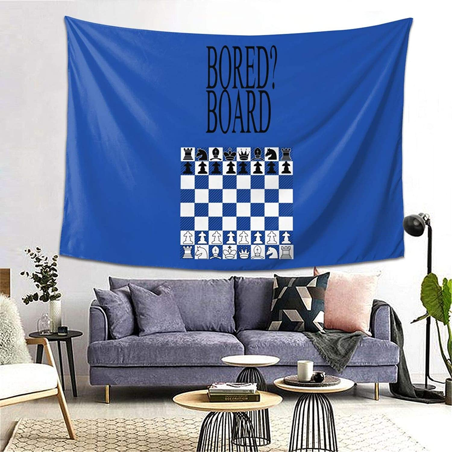 Chessboard 2 Pullover Hoodie Wall Tapestry Apestry Album 3D Wall Hanging Art Home Decor Wave Tapestries