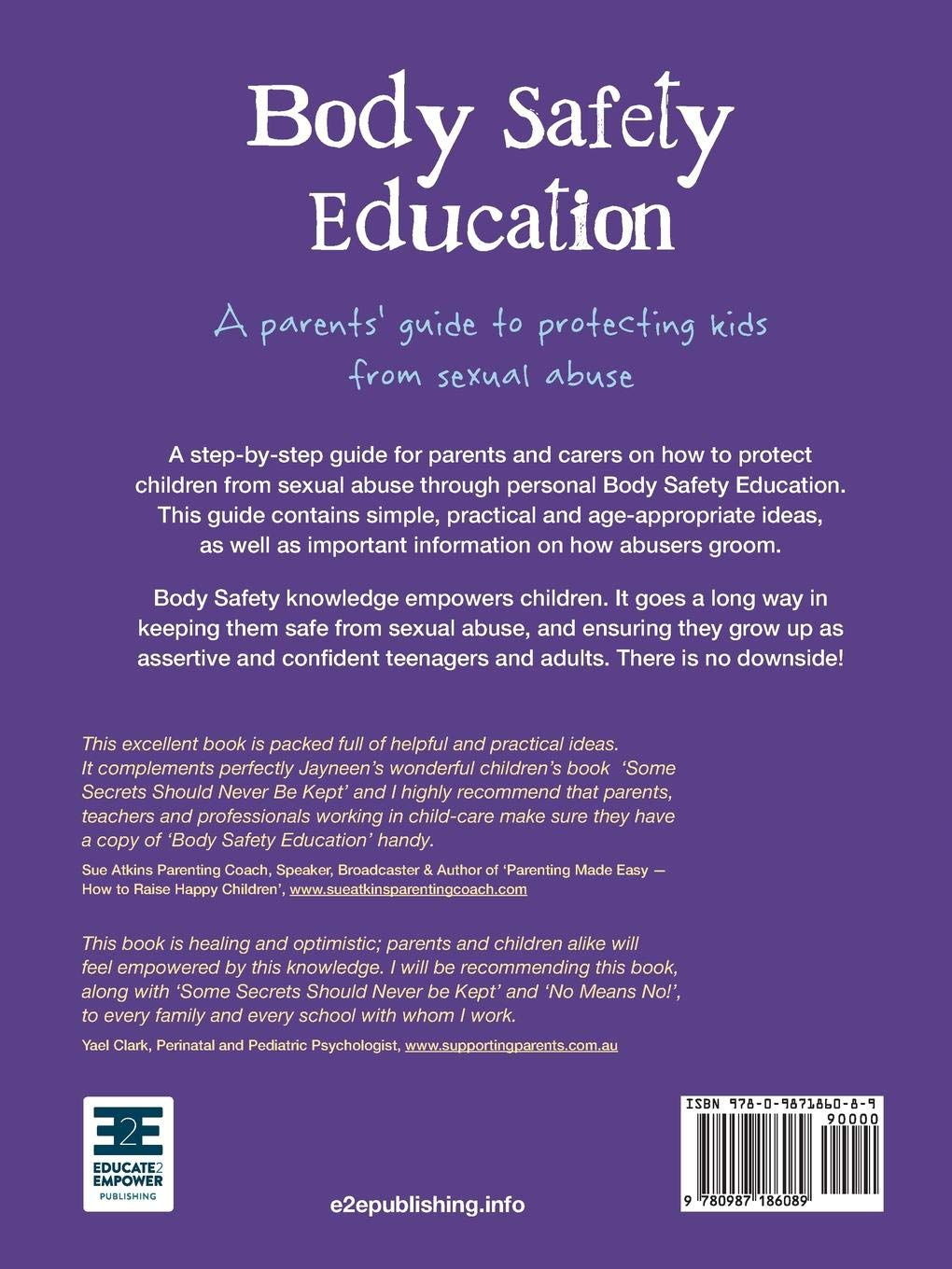 New Ways To Protect Kids From Abuse And >> Body Safety Education A Parents Guide To Protecting Kids From
