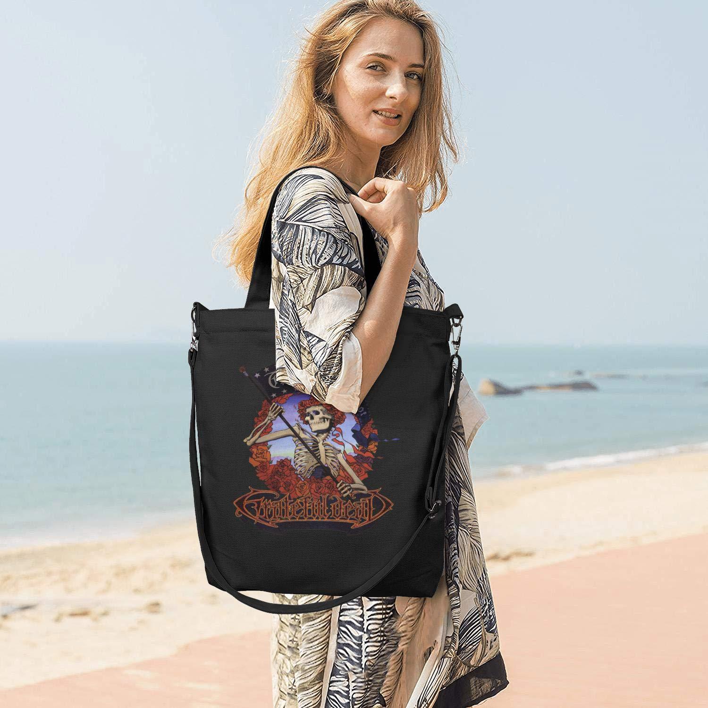 Womens Canvas Tote Handbags Casual Cross Body Shoulder Bag Rock Group Members Durable Hobo bag