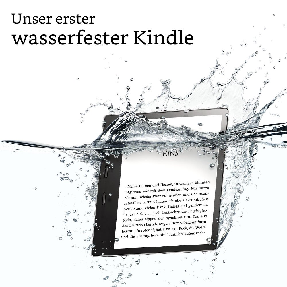 kindle oasis wasserfester ebook reader