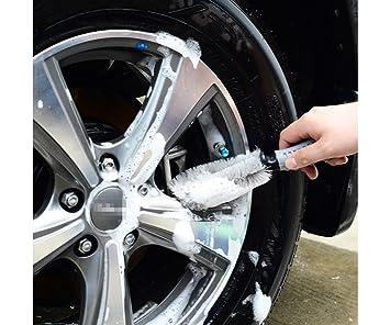 Escobilla para llantas y neumáticos de cerdas suaves de T2O®  Amazon ... e96b4b6fe718
