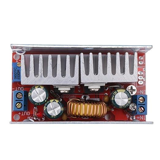 42 opinioni per DROK® DC-DC Convertitore buck Voltage Regulator 5-40V per 1.25-36V 8A Stepless