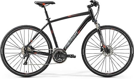 Unbekannt Hombre Bicicleta 28 Pulgadas Trekking Negro Rojo ...