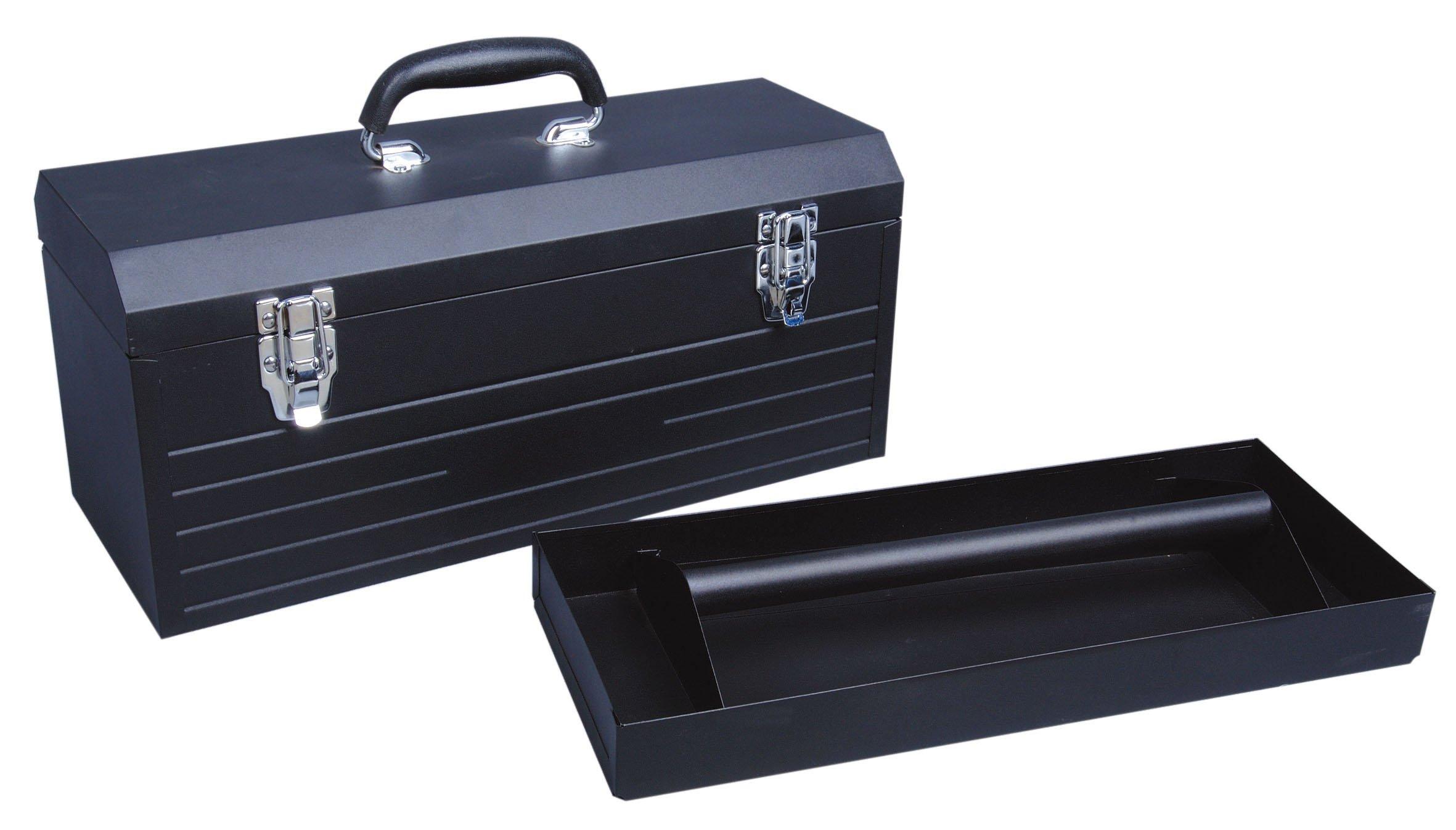 Tactix 321100 20-Inch Steel Tool Box, 51cm
