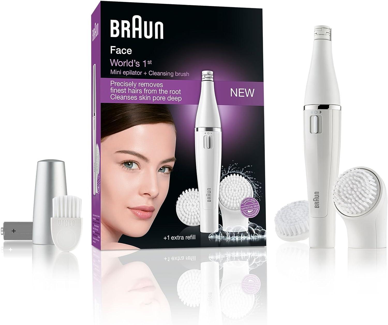 Braun 820 Face - Depiladora, color blanco: Amazon.es: Salud y ...