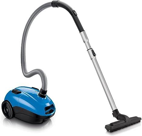 Philips Powerlife FC8321/09 - Aspirador con bolsa, cepillo para suelos duros, compartimento para el polvo de 3 l, bolsa S-bag, color azul: Amazon.es: Hogar